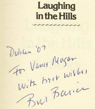 Laughing in the Hills - 1st Edition/1st Printing
